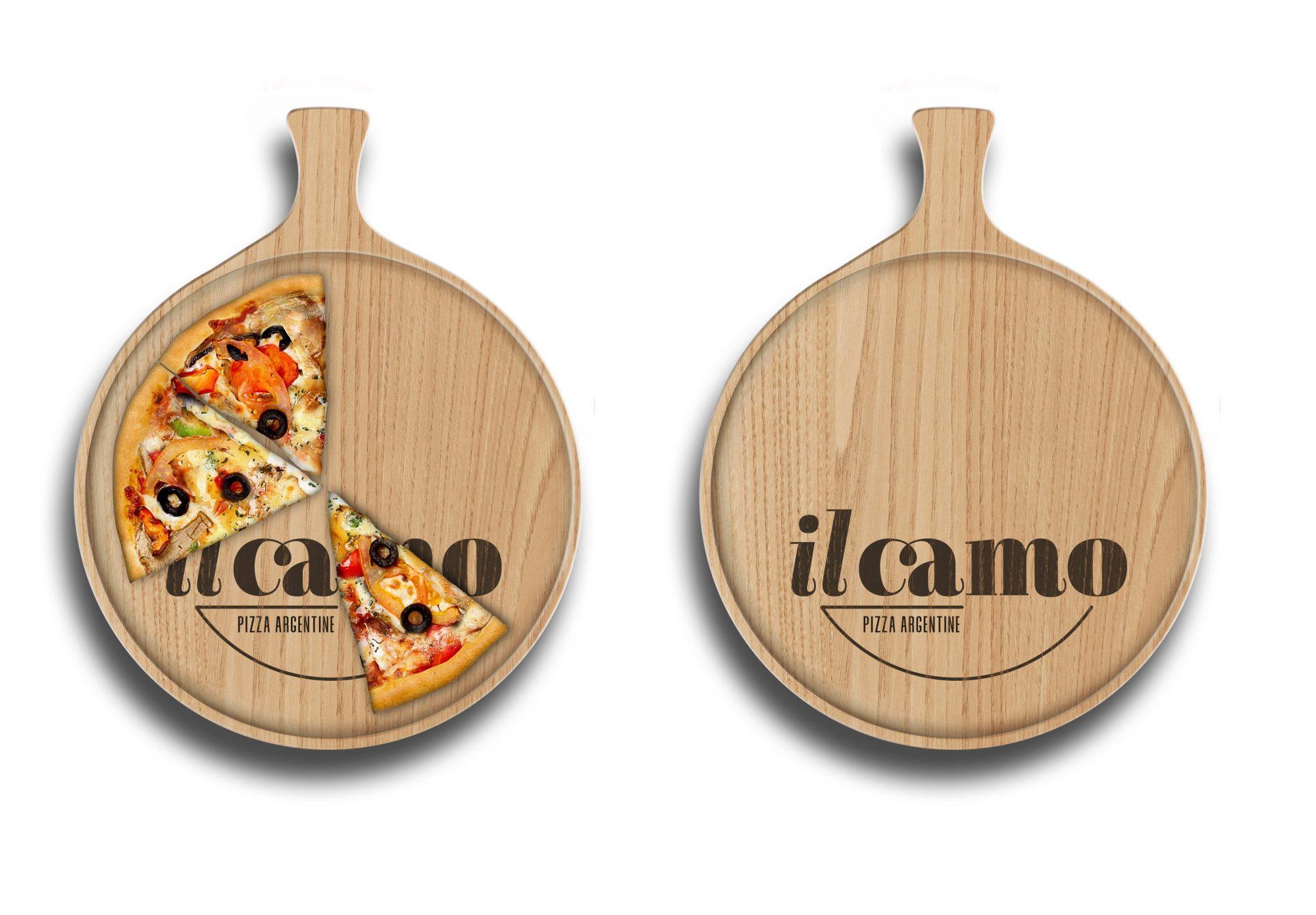il camo – wooden pizza