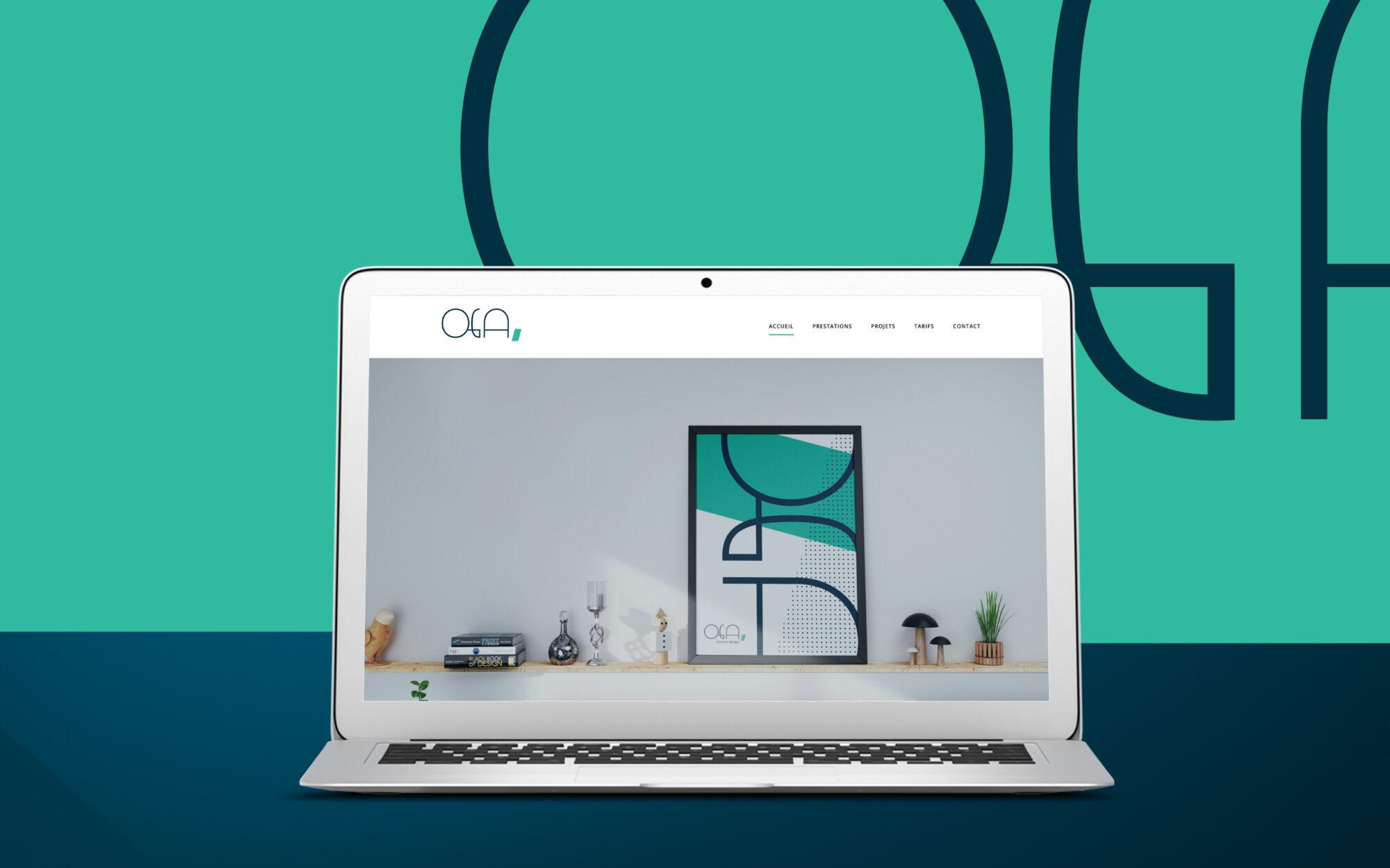 featured OGA website – notebook