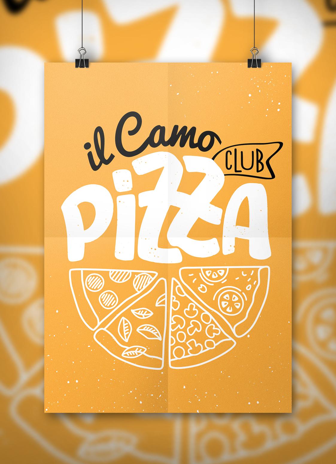 affiche Il camo club_mockup