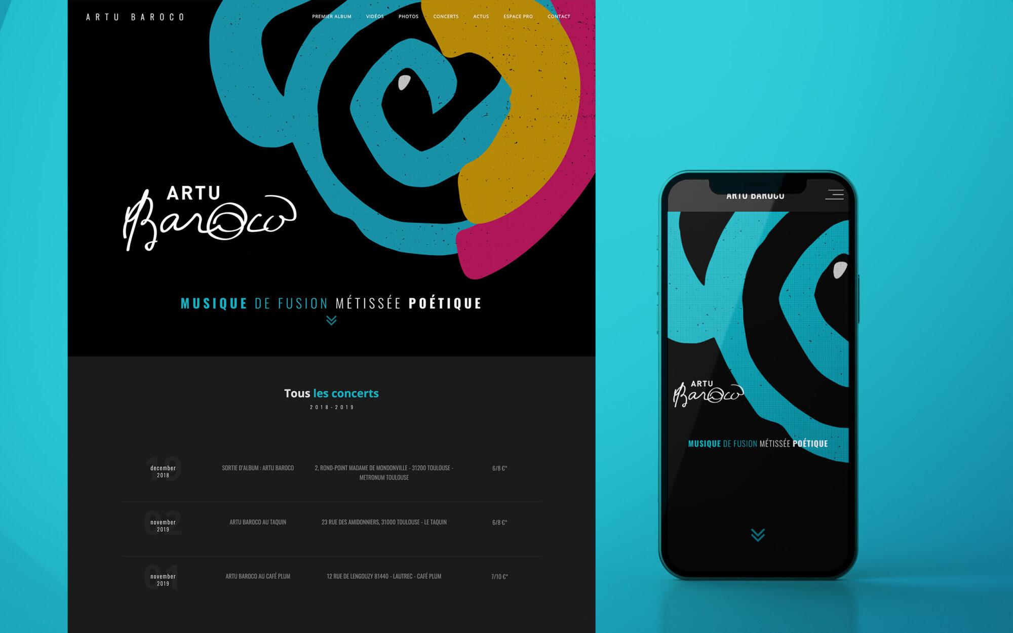 featured ARTU website