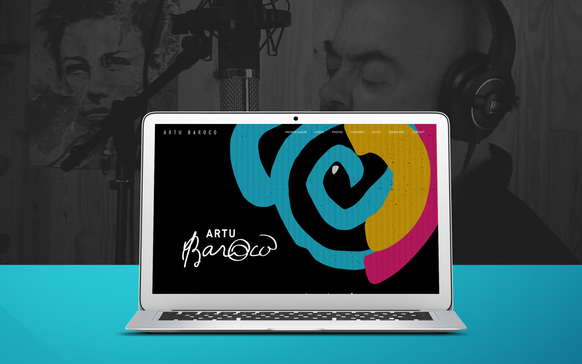 featured ARTU website – notebook
