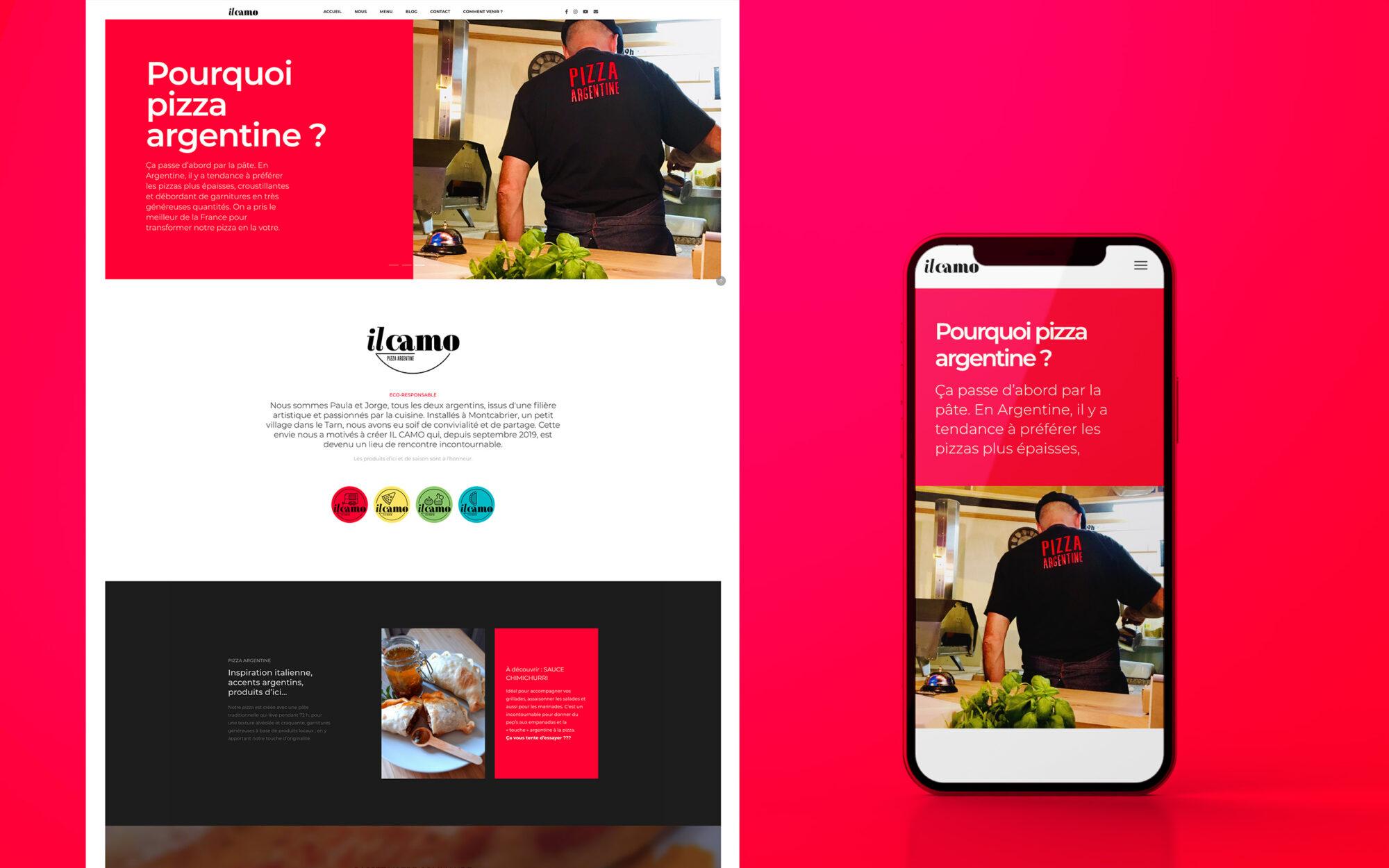 featured IL CAMO website