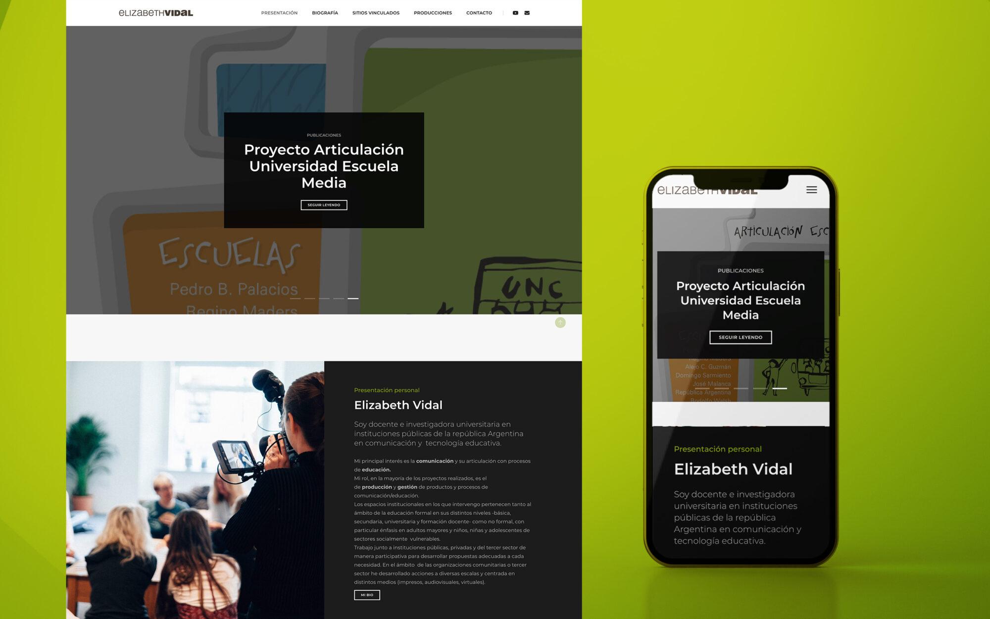 featured LIZ website